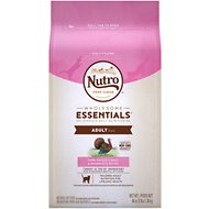 Nutro Wholesome Essentials Adult Farm-Raised Turkey & Brown Rice Recipe Dry Cat Food, 3-lb bag