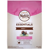 Nutro Wholesome Essentials Adult Farm-Raised Turkey & Brown Rice Recipe Dry Cat Food, 14-lb bag