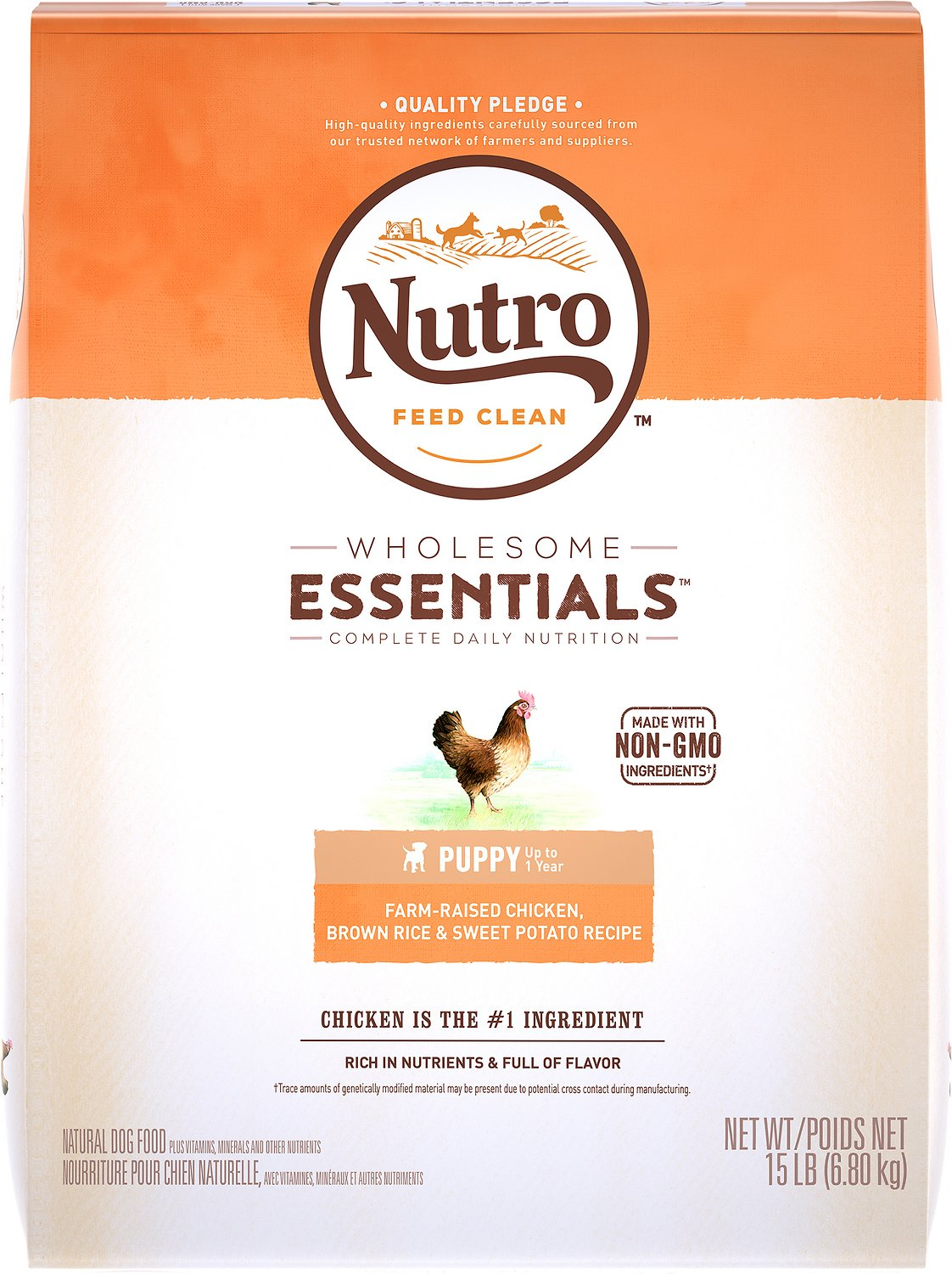Nutro wholesome essentials puppy farm raised chicken brown rice video forumfinder Image collections