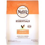Nutro Wholesome Essentials  Puppy Farm Raised Chicken, Brown Rice & Sweet Potato Recipe Dry Dog Food, 15-lb bag