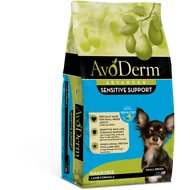 AvoDerm Natural Grain-Free Revolving Menu Small Breed Lamb Recipe Adult Dry Dog Food, 4-lb bag