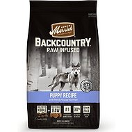 Merrick Backcountry Freeze-Dried Raw Puppy Recipe Grain-Free Dry Dog Food, 4-lb bag