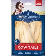 Barkworthies Cow Tails Dog Treats, 6-oz bag