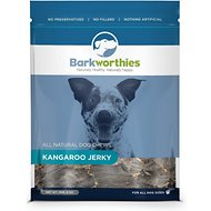 Barkworthies Kangaroo Jerky Dog Treats, 4-oz bag