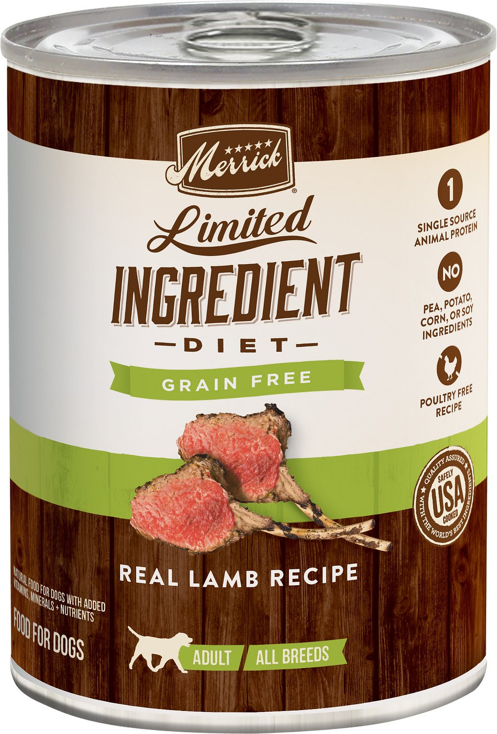 Limited Ingredient Grain Free Lamb Canned Dog Food