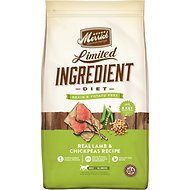 Merrick Limited Ingredient Diet Grain-Free Real Lamb & Chickpeas Recipe Dry Dog Food, 22-lb bag