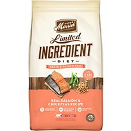 Merrick Limited Ingredient Diet Grain-Free Real Salmon & Chickpeas Recipe Dry Dog Food, 12-lb bag