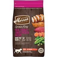 Merrick Grain-Free Real Turkey + Sweet Potato Recipe Dry Dog Food, 12-lb bag