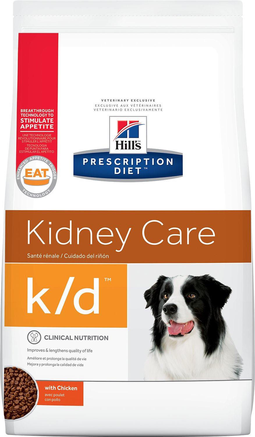 Hills Prescription Diet Kd Kidney Care With Chicken Dry Dog Food