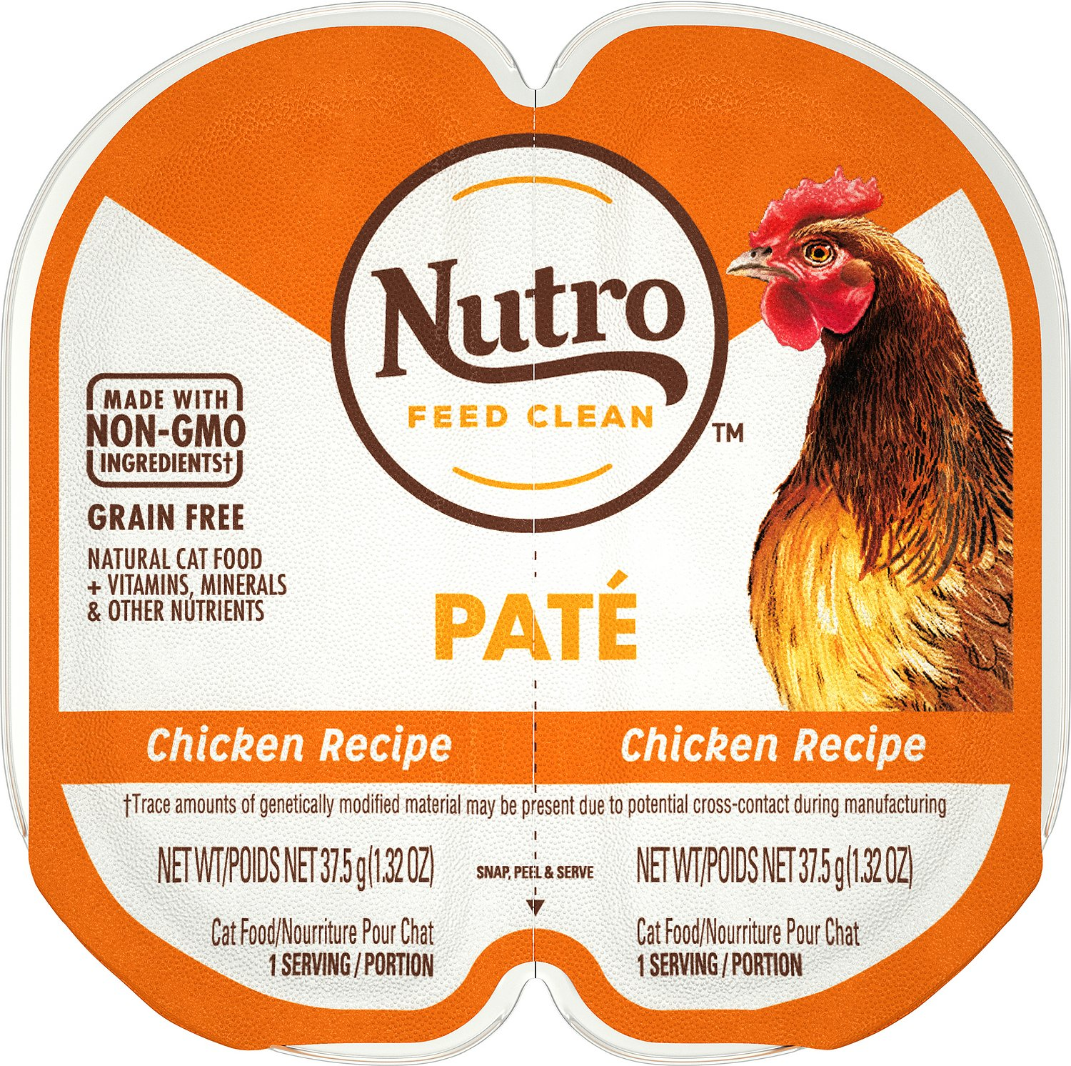 Nutro perfect portions grain free chicken recipe cat food trays 26 video forumfinder Images