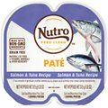 Nutro Perfect Portions Grain-Free Salmon & Tuna Paté Recipe Cat Food Trays