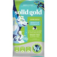 Solid Gold Leaping Waters Cold Water Salmon & Vegetable Recipe Grain-Free Adult Dry Dog Food, 22-lb bag