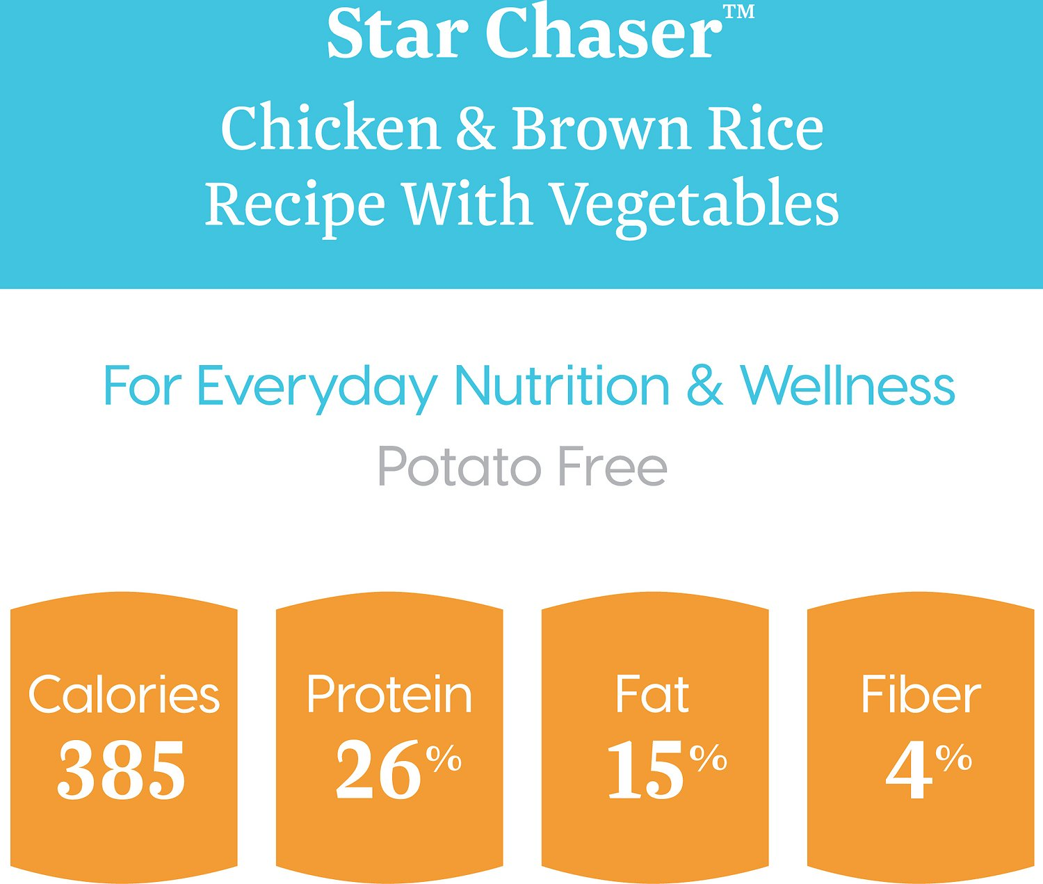 Solid Gold Star Chaser Chicken Amp Brown Rice With