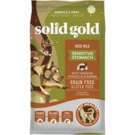 Solid Gold Buck Wild Venison, Potato & Pumpkin Recipe Grain-Free Adult Dry Dog Food, 24-lb bag