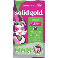 Solid Gold Mighty Mini Turkey & Hearty Vegetable Recipe Grain-Free Dry Dog Food, 4-lb bag
