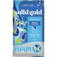 Solid Gold Fit as a Fiddle Weight Control with Alaskan Pollock Grain-Free Adult Dry Cat Food, 12-lb bag