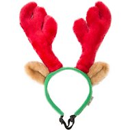Outward Hound Holiday Antlers Dog Costume, Large
