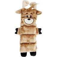 Outward Hound Holiday Invincibles Reindeer Dog Toy, Medium