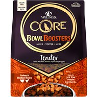 Wellness CORE Tender Bites Original Recipe Meal or Mixer Air Dried Grain-Free Dog Food, 2-lb bag