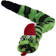 Outward Hound Holiday Invincibles Snakes Dog Toy, Green, Large