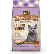 Merrick Purrfect Bistro Grain-Free Indoor Senior Recipe Dry Cat Food, 7-lb bag