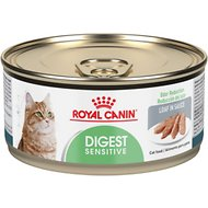 Royal Canin Digest Sensitive Loaf in Sauce Canned Cat Food, 5.8-oz, case of 24