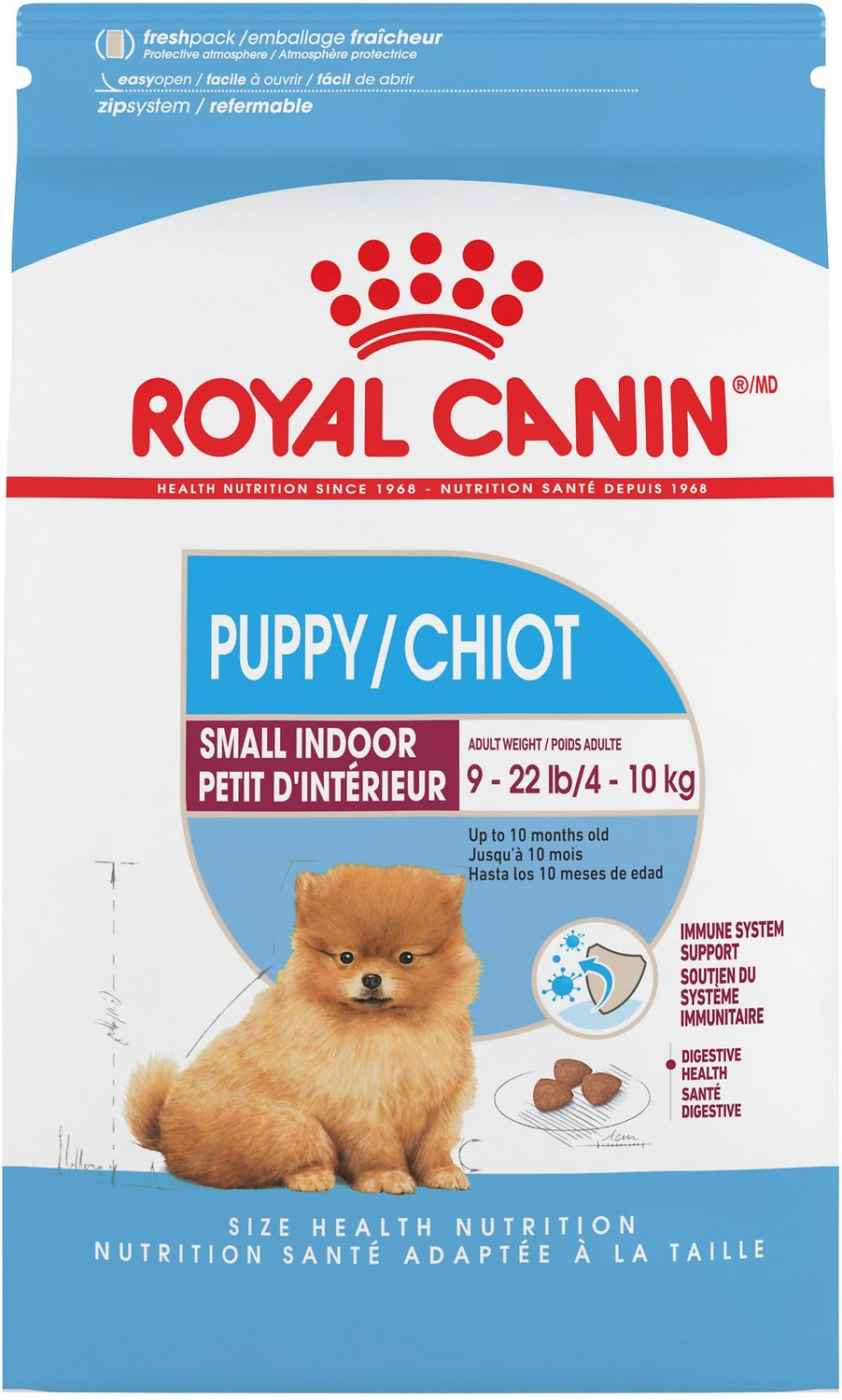 royal canin puppy mini  Royal Canin Indoor Puppy Dry Dog Food, 2.5-lb bag -