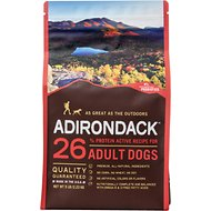 Adirondack 26% Adult Active Recipe Dry Dog Food, 15-lb bag