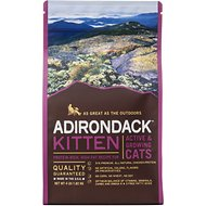 Adirondack Kitten Protein-Rich, High-Fat for Active & Growing Cats Recipe Dry Cat Food, 13.22-lb bag