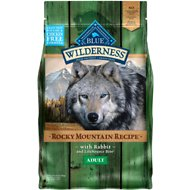 Blue Buffalo Wilderness Rocky Mountain Recipe with Rabbit Adult Grain-Free Dry Dog Food, 4-lb bag