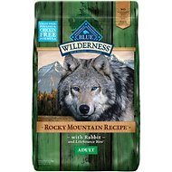 Blue Buffalo Wilderness Rocky Mountain Recipe with Rabbit Adult Grain-Free Dry Dog Food, 22-lb bag