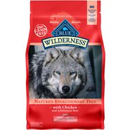 Blue Buffalo Wilderness Healthy Weight Chicken Recipe Adult Small Breed Grain-Free Dry Dog Food, 4.5-lb bag