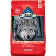 Blue Buffalo Wilderness Healthy Weight Chicken Recipe Adult Small Breed Grain-Free Dry Dog Food, 11-lb bag