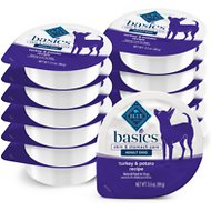 Blue Buffalo Basics Limited Ingredient Grain-Free Turkey & Potato Small Breed Adult Wet Dog Food, 3-oz, case of 12