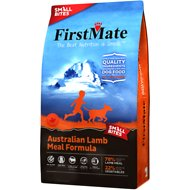 FirstMate Small Bites Australian Lamb Meal Formula Limited Ingredient Diet Grain-Free Dry Dog Food, 14.5-lb bag