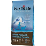 FirstMate Chicken Meal with Blueberries Formula Limited Ingredient Diet Grain-Free Dry Dog Food, 14.5-lb bag