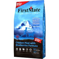 FirstMate Small Bites Chicken Meal with Blueberries Formula Limited Ingredient Diet Grain-Free Dry Dog Food, 14.5-lb bag