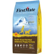 FirstMate Endurance/Puppy Pacific Ocean Fish Meal Formula Limited Ingredient Diet Grain-Free Dry Dog Food, 5-lb bag