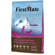 FirstMate Weight Control/Senior Pacific Ocean Fish Meal Formula Limited Ingredient Diet Grain-Free Dry Dog Food, 28.6-lb bag
