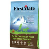 FirstMate Large Breed Pacific Ocean Fish Meal Formula Limited Ingredient Diet Grain-Free Dry Dog Food, 28.6-lb bag