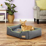 P.L.A.Y. Pet Lifestyle and You Urban Plush Lounge Bed, Lime, Medium