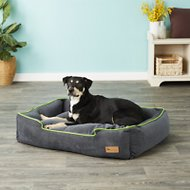 P.L.A.Y. Pet Lifestyle and You Urban Plush Lounge Bed, Lime, Large