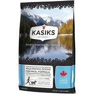 KASIKS Wild Pacific Ocean Fish Meal Formula Grain-Free Dry Dog Food, 25-lb bag
