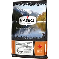 KASIKS Free Range Lamb Meal Formula Grain-Free Dry Dog Food, 25-lb bag