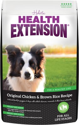 Health Extension Original Chicken & Brown Rice Recipe Dry Dog Food