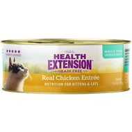 Health Extension Grain-Free Real Chicken Entree Canned Cat Food, 5.5-oz, case of 24