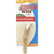 KONG Wild Whole Elk Antler Dog Chew, Small