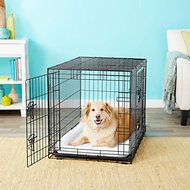 Frisco Fold & Carry Double Door Collapsible Wire Dog Crate, 36 inch