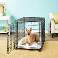 Frisco Fold & Carry Double Door Dog Crate, 42-in