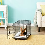 Frisco Fold & Carry Single Door Collapsible Wire Dog Crate, 22 inch